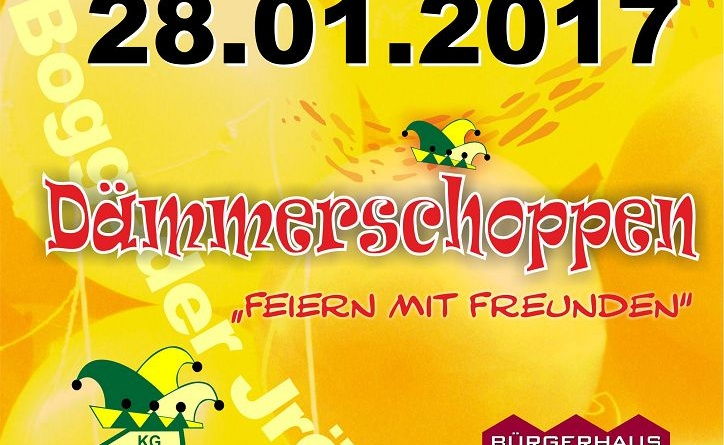 Save the Date – Dämmerschoppen 2017