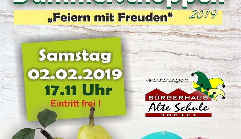 Save the Date – Dämmerschoppen 2019